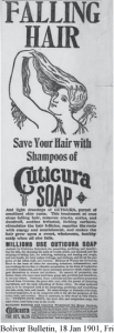 Falling Hair Cure - Cuticura Soap
