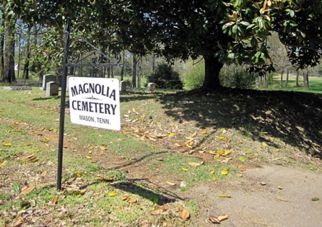 Magnolia Cemetery in Mason TN