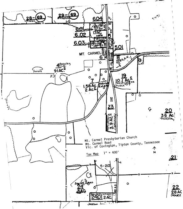 Mount Carmel Church Map