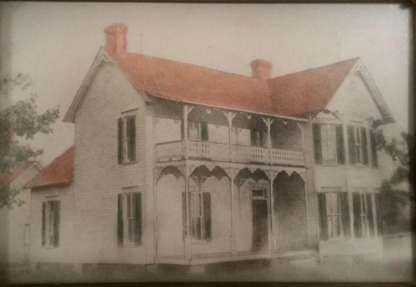 Granddad's Childhood Home (Dr E R Nichols)