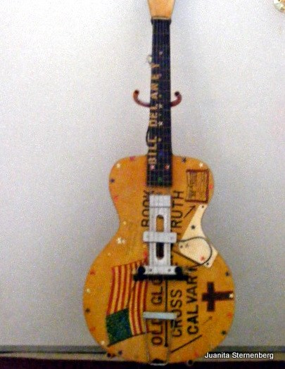 Guitar made by William Delaney