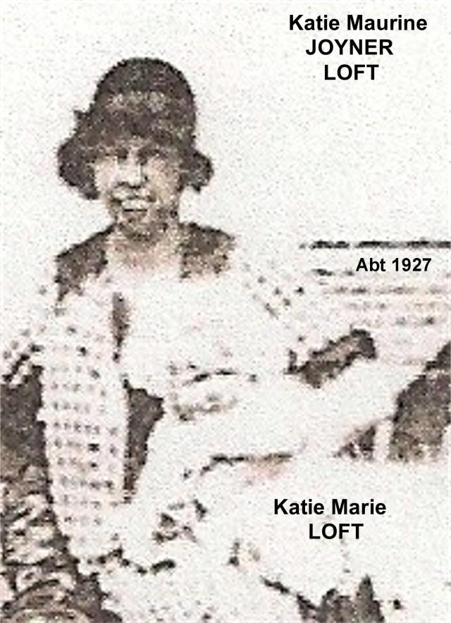 JOYNER, Katie Maurine LOFT