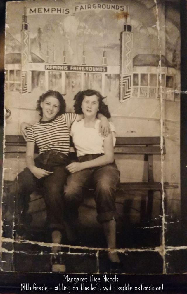 Mom (Margaret Alice Nichols Williams) and Her friend