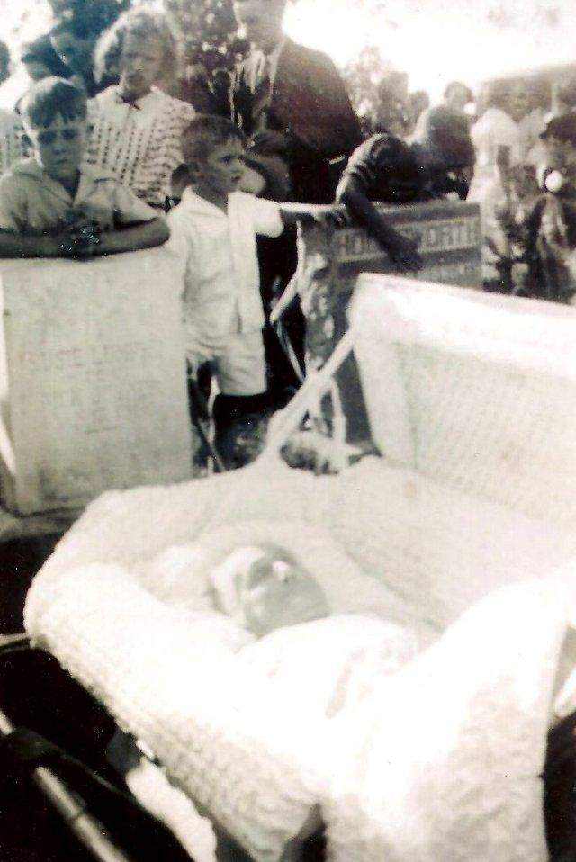 Susan Ann Lumpkin in Casket - Susie's Funeral