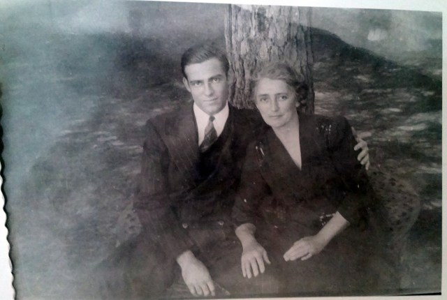 Uncle Elbert and Grandmother (Mary Frances Piercy Nichols)