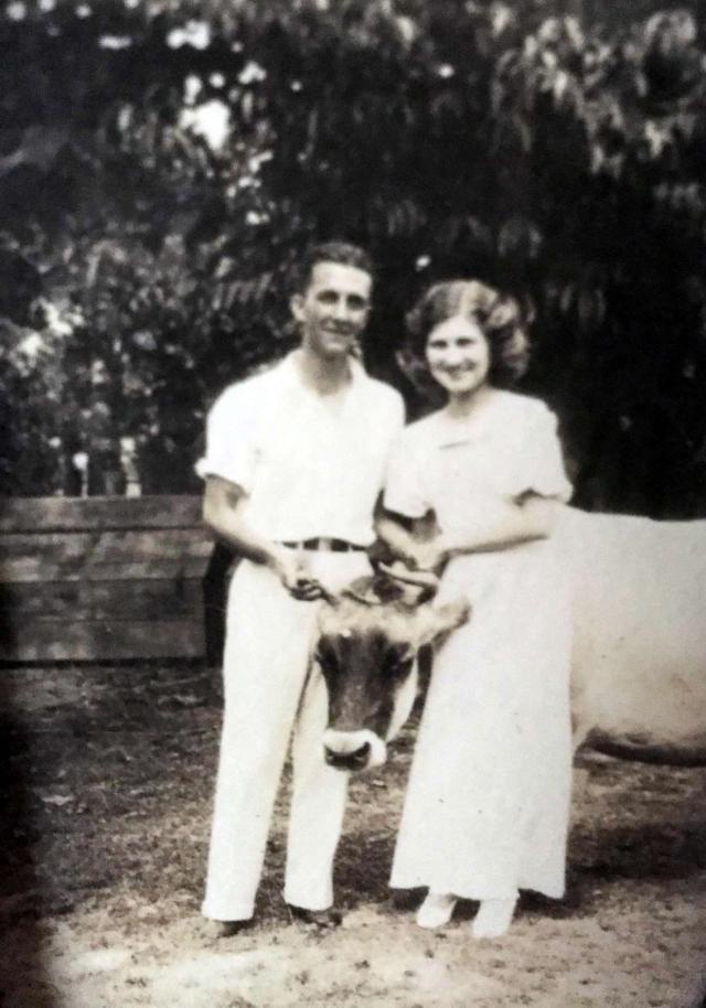 Uncle Lake Howard and Aunt Frances Nichols Howard