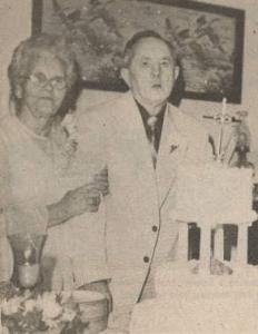 Mr. and Mrs. Aubrey Patterson - Golden Anniversary