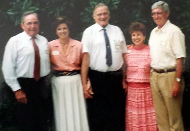 Siblings - Walter, Nancy, Elbert Jr., Margaret and Richard