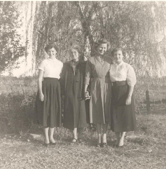 Nancy, Mary (their mother), Francis, Margaret