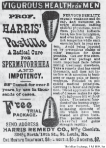 More Advertisements for Medical Remedies