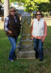 Valentine T Dodson Headstone in Edmondson Cemetery