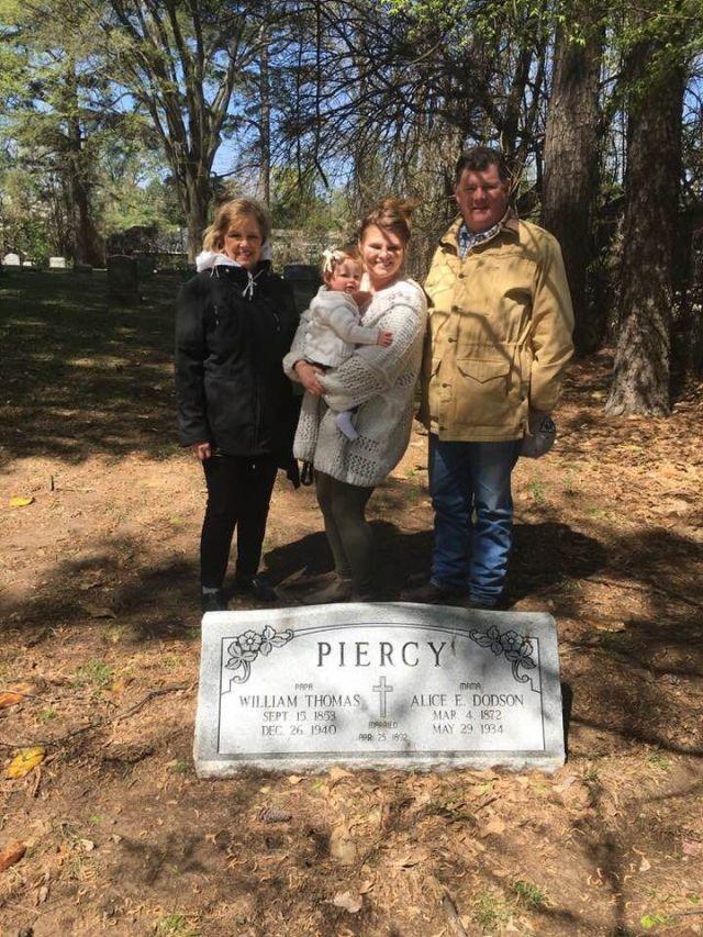 William Thomas Piercy & Alice E Dodson Piercy