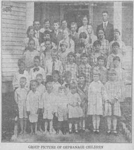 History of the Dunlap Orphanage