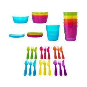 Ikea 36-piece colors Dinnerware Set