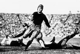 Notre Dame's Jim Crowley in the 1925 Rose Bowl