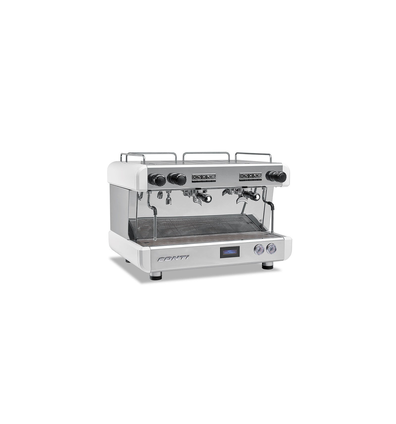 Machine A Cafe Cc100 Conti 2 Groupes Blanche Tip Top Coffee