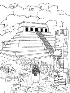 Free Coloring pages for boys and girls: Various: Architecture