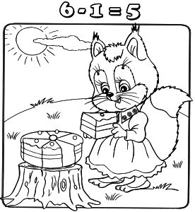 Free Coloring pages for boys and girls: School: Mathematics