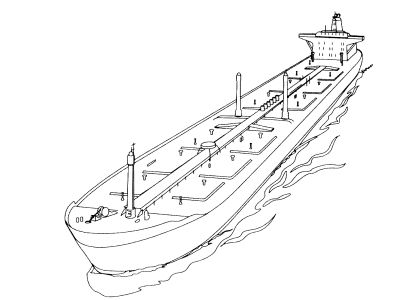 Free Coloring pages for boys and girls: Technique: Ships