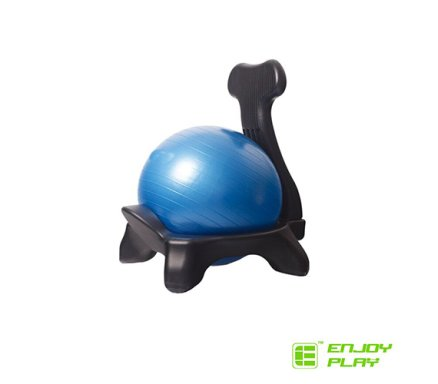 gym ball chair pop up enjoy play with gymball malta balls sports fitness