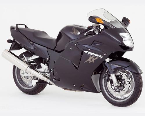 Honda CBR 1100 XX Blackbird Hot  Top 10 Fastest Motorbikes in the World