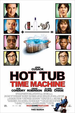 Hot tub time machine Top 10 Funniest Movies of 2010   2011