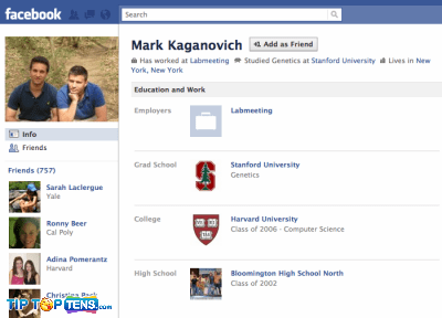 mark kaganovich1 10 First People To Join The Facebook