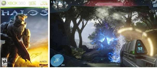 4.  Halo 3 Top 10 Best Game Shooter Orang Pertama pada 2012