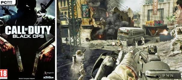 9.  Call of Duty Black Ops 10 Game Terbaik Orang Pertama Shooter tahun 2012