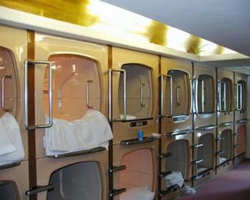 大阪膠囊旅館圖片