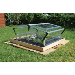 Double Cold Frame Greenhouse 1