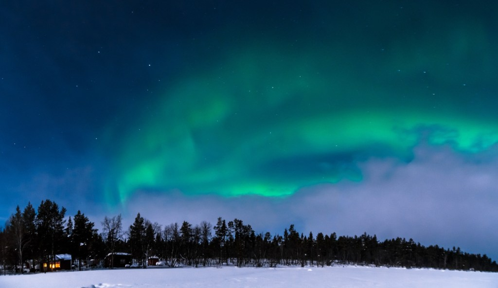 cheap destination to travel in 2020: Swedish lapland