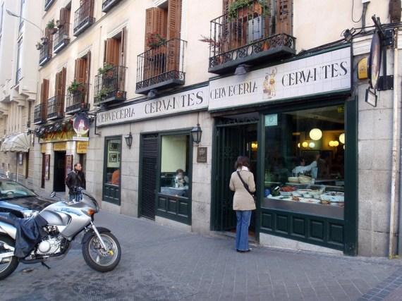Cervecería Cervantes in Madrid