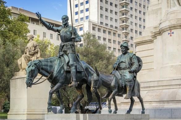 Monumento Cervantes Plaza de España