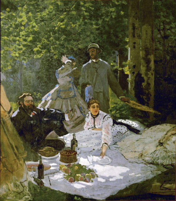 Claude Monet - Luncheon on the Grass (Musée d'Orsay)