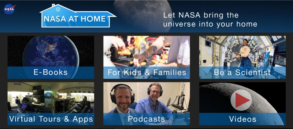 NASA at home is an alternative way to get culture at home