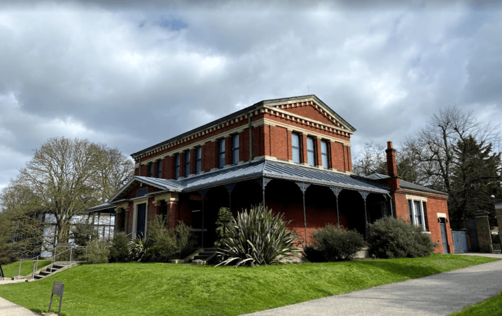 The Marianne North Gallery in Kew Gardens, London