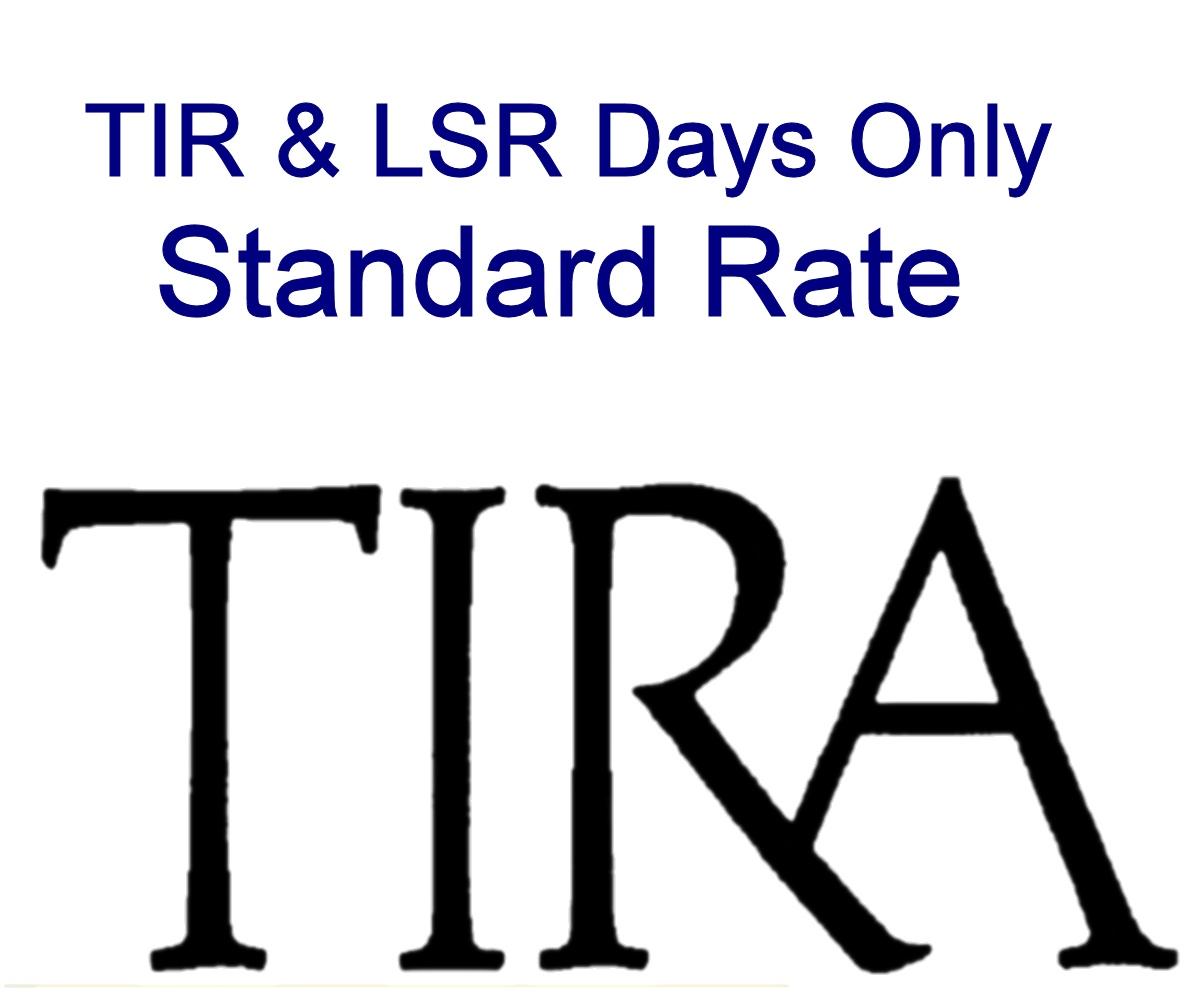 Std Rate: TIR & LSR Days