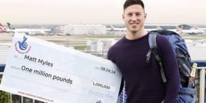 Euromillions : son million empoché, il démissionne et prend son sac à dos