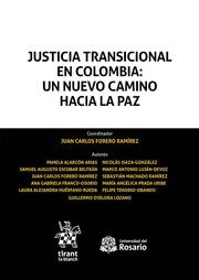 Resultado de imagen para Justicia transicional en Colombia : un nuevo camino hacia la paz portada