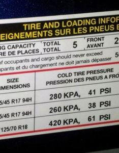 Door sticker also how to read speed rating and load index tirebuyer rh