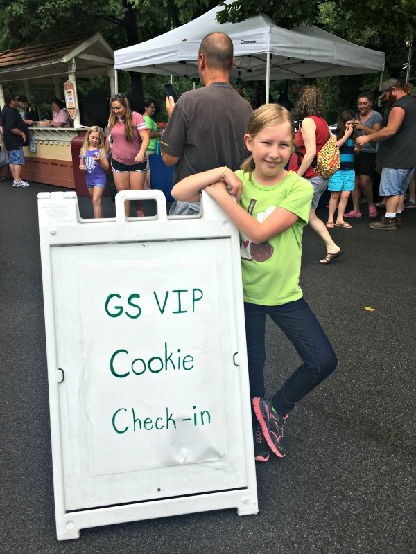 Girl Scout VIP Sign