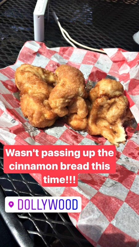 Grist Mill Cinnamon Bread Dollywood