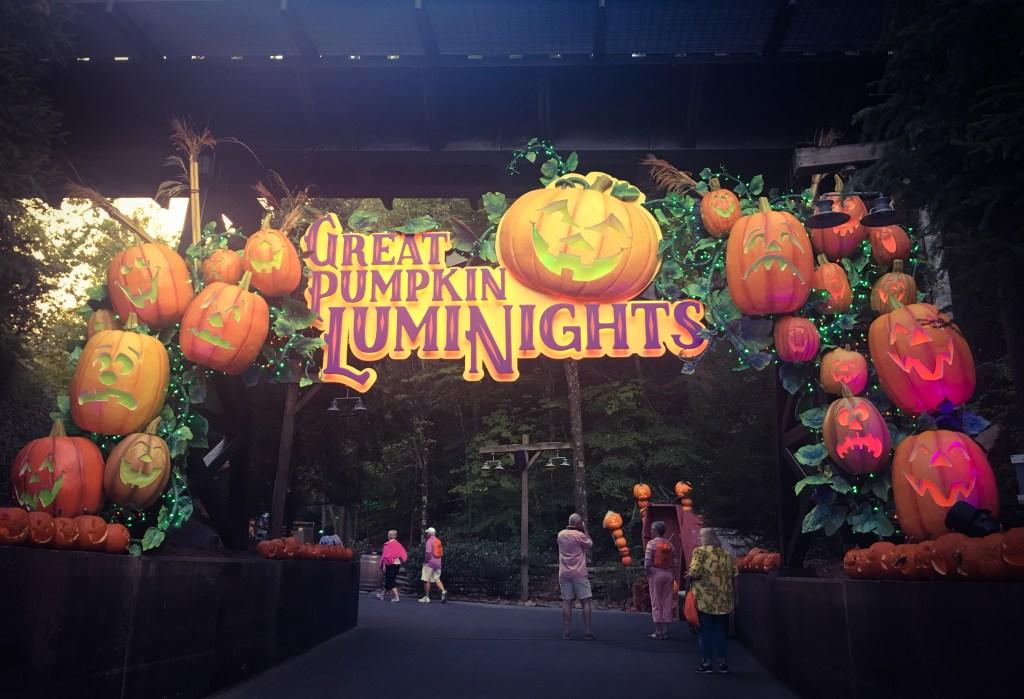 Dollywood Great Pumpkin LumiNights Arch TiredMommyTales