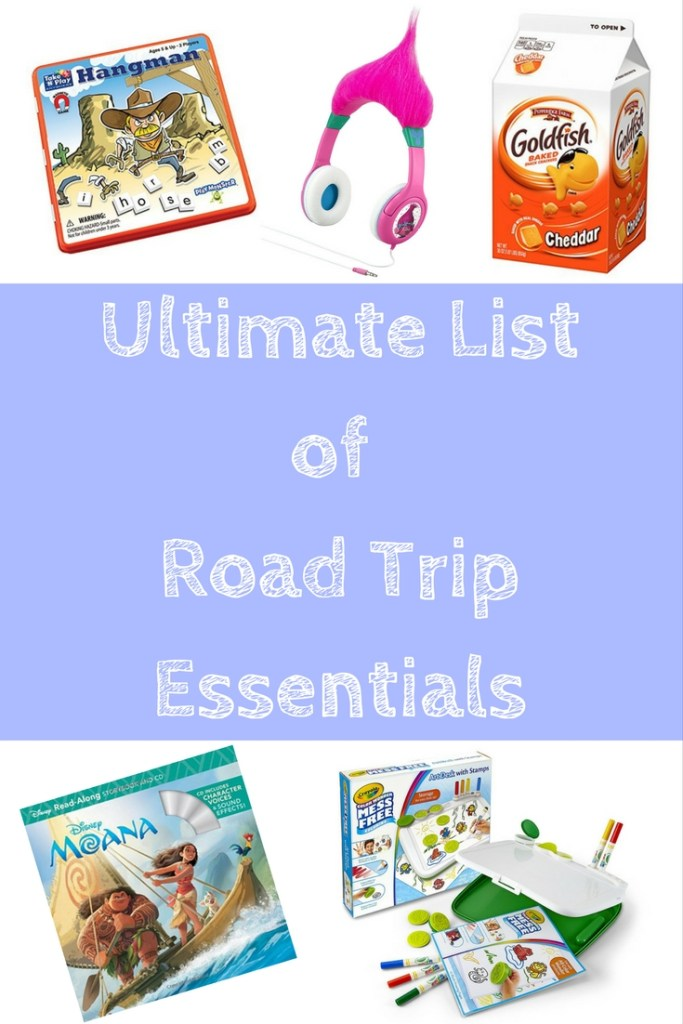 Ultimate List of Road Trip Essentials Tired Mommy Tales