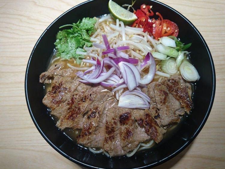 wagamama Chilli sirloin steak ramen