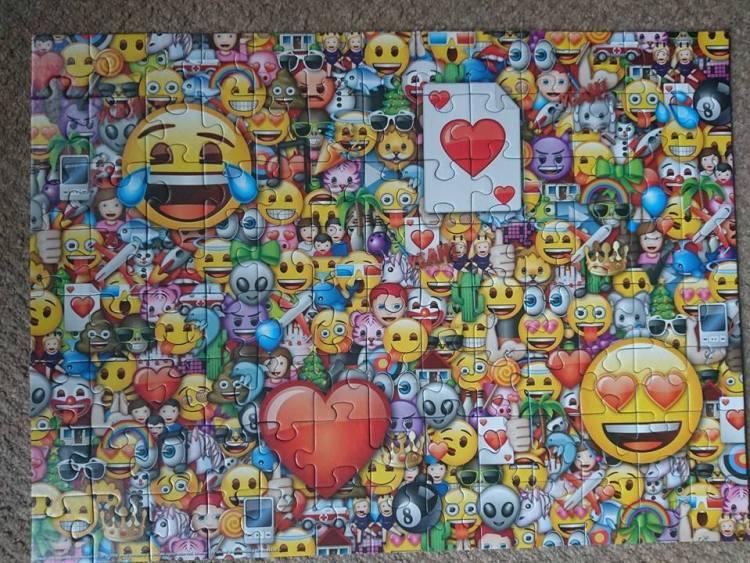 Emoji puzzle done