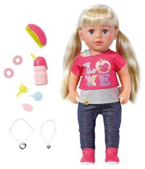 baby born sister doll and accessories