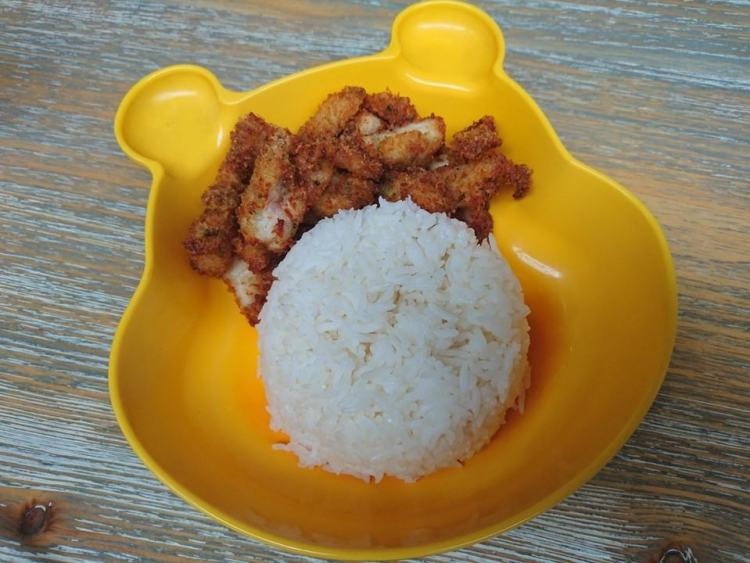 Thaikhun kids chicken and rice