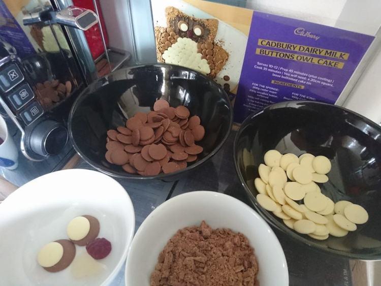 owl cake ingredients